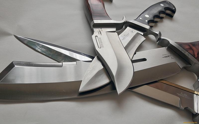 Заточка охотничьих ножей